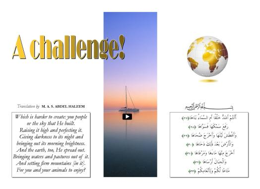 A challenge!