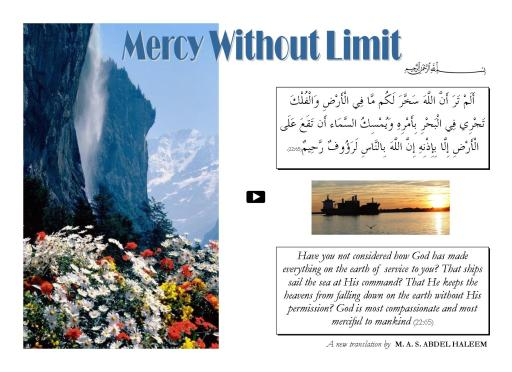 Mercy Without Limit